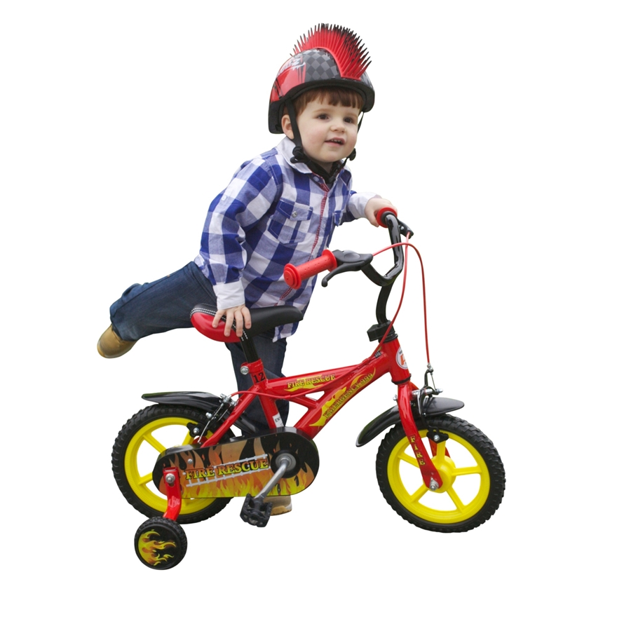 "12"" Fire Rescue Bike image-7"