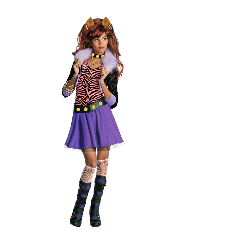 Monster High Clawdeen Wolf Dress Up