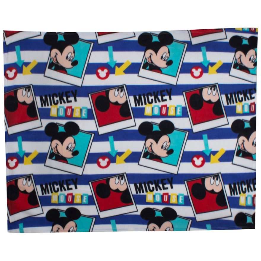 Disney Mickey Mouse Fleece Blanket image-0
