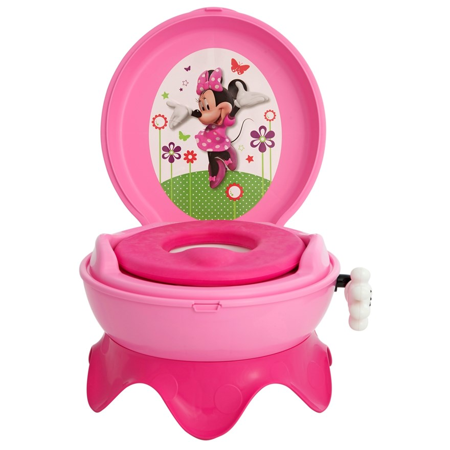 Tomy Disney Potty System - Minnie Mouse image-0