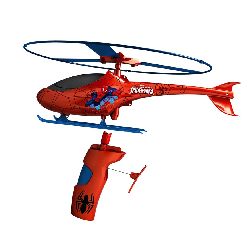Spider-Man Rescue Helicopter image-0