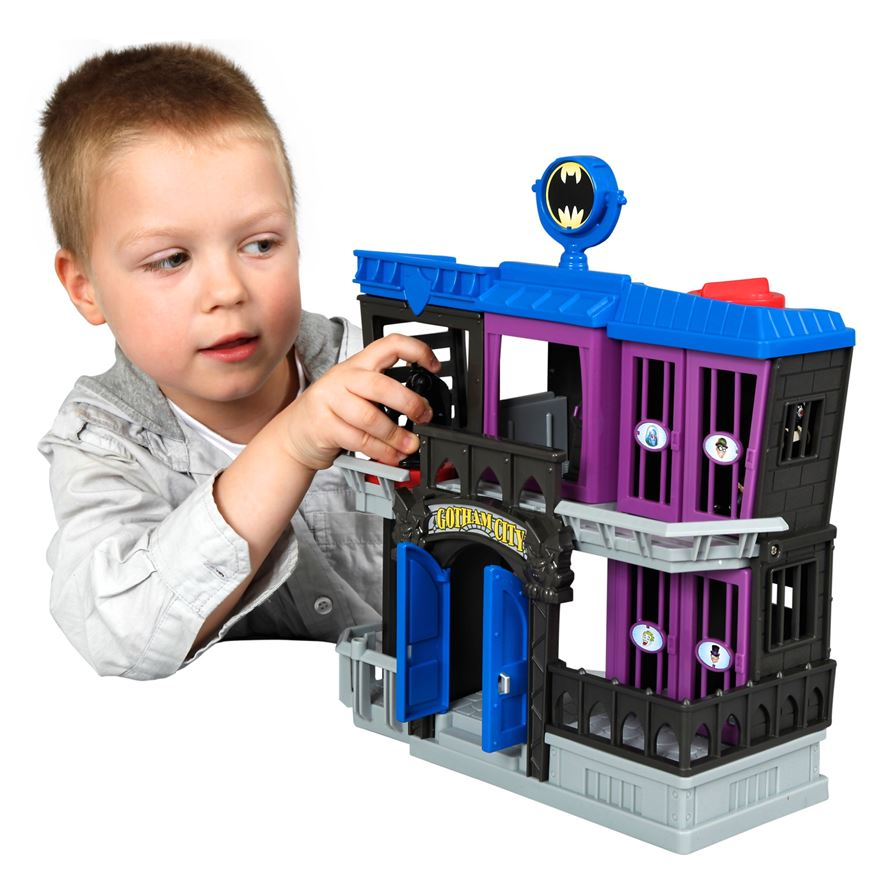 Fisher-Price Imaginext DC Superfriends Gotham Jail image-0