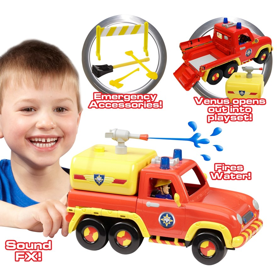 Fireman Sam 2-in-1 Venus Vehicle Playset image-0