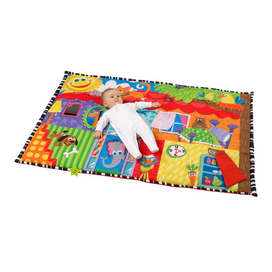 Playgro Happy House Super Baby Mat image-0