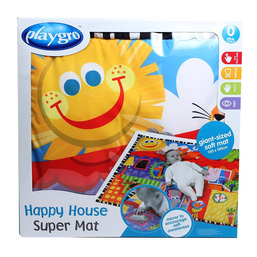 Playgro Happy House Super Mat image-7