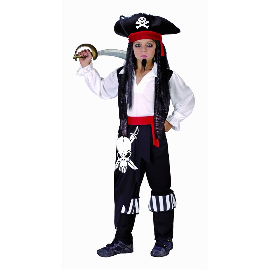 Pirate Costume Medium image-0