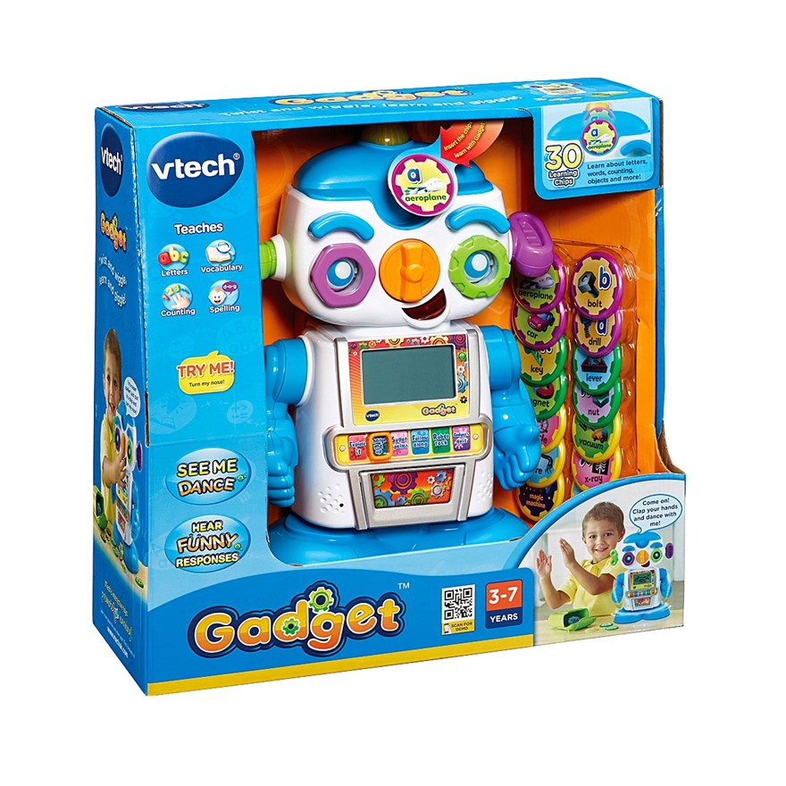 VTech Gadget the Interactive Robot image-7