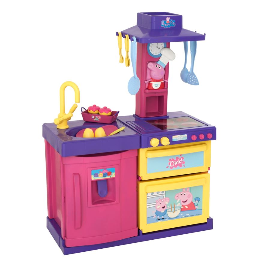 Peppa Pig Cook and Play Kitchen image-1