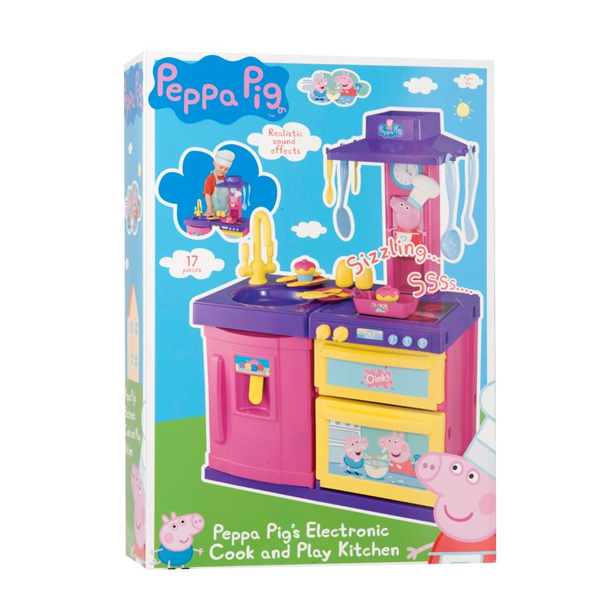 Peppa Pig Cook and Play Kitchen image-2