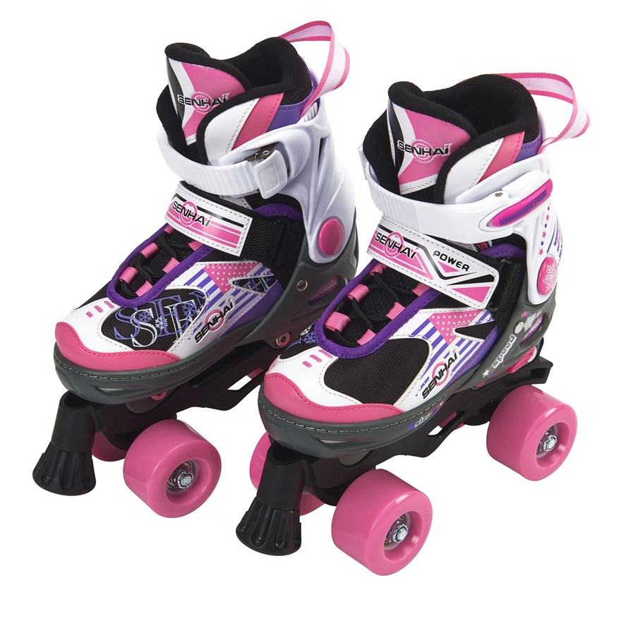 Blindside Quad Skate 1-3 (UK) Pink/Purple