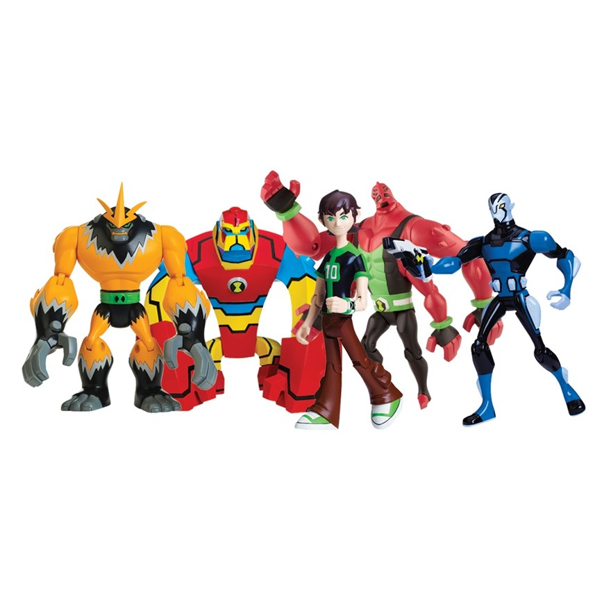 Ben 10 Omniverse Alien Collection Figures image-0