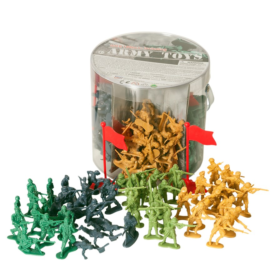 200 Piece Soldier Set image-0