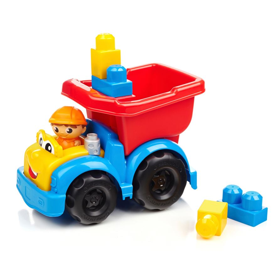 Mega Bloks First Builders Lil Vehicles Dylan Dump Truck image-0