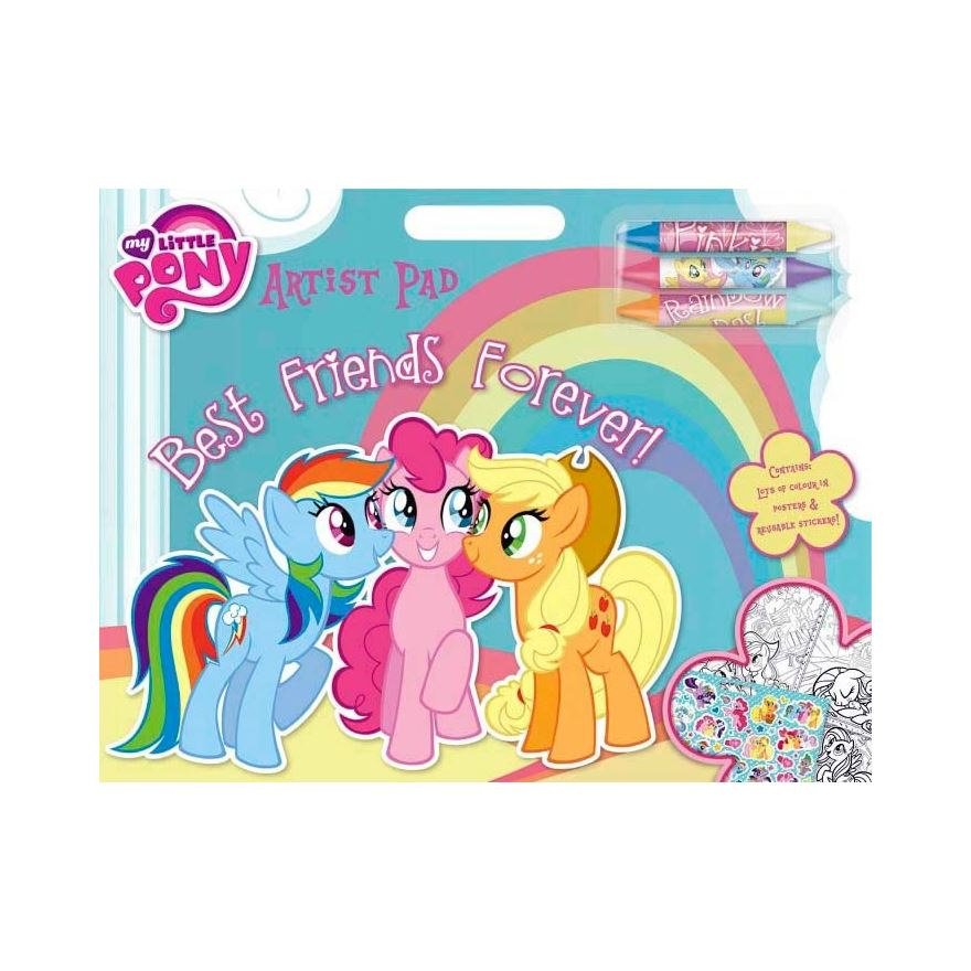 My Little Pony Artist Pad Best Friends Forever