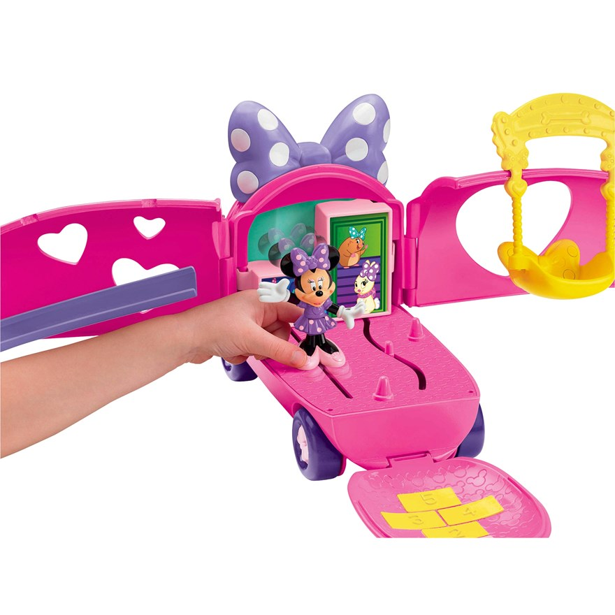 Disney Minnie Mouse Pet Tour Van image-0