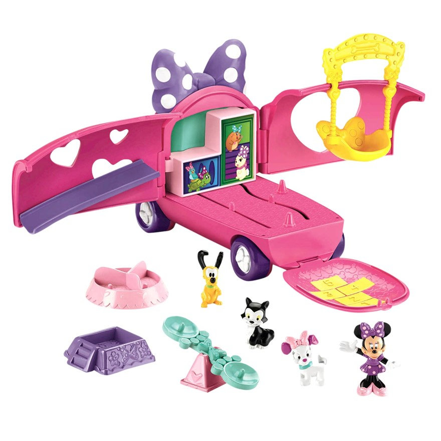 Disney Minnie Mouse Pet Tour Van image-5