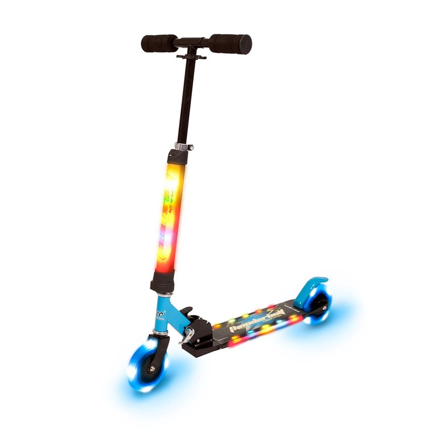 Light Up Blue Scooter image-0