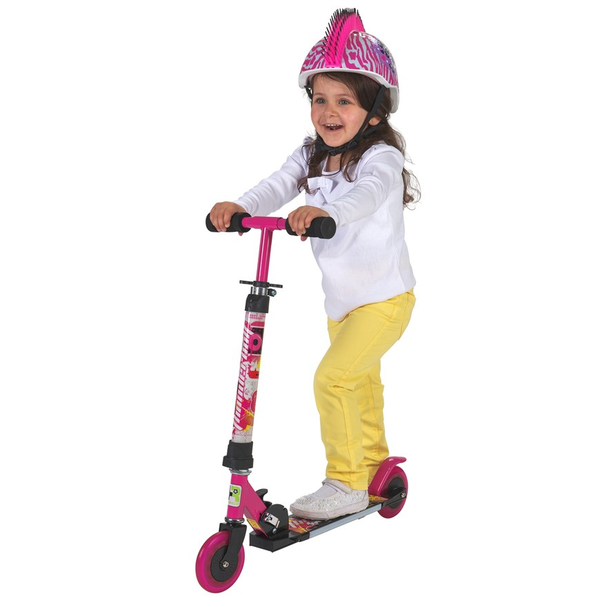 Light Up Pink Scooter image-0