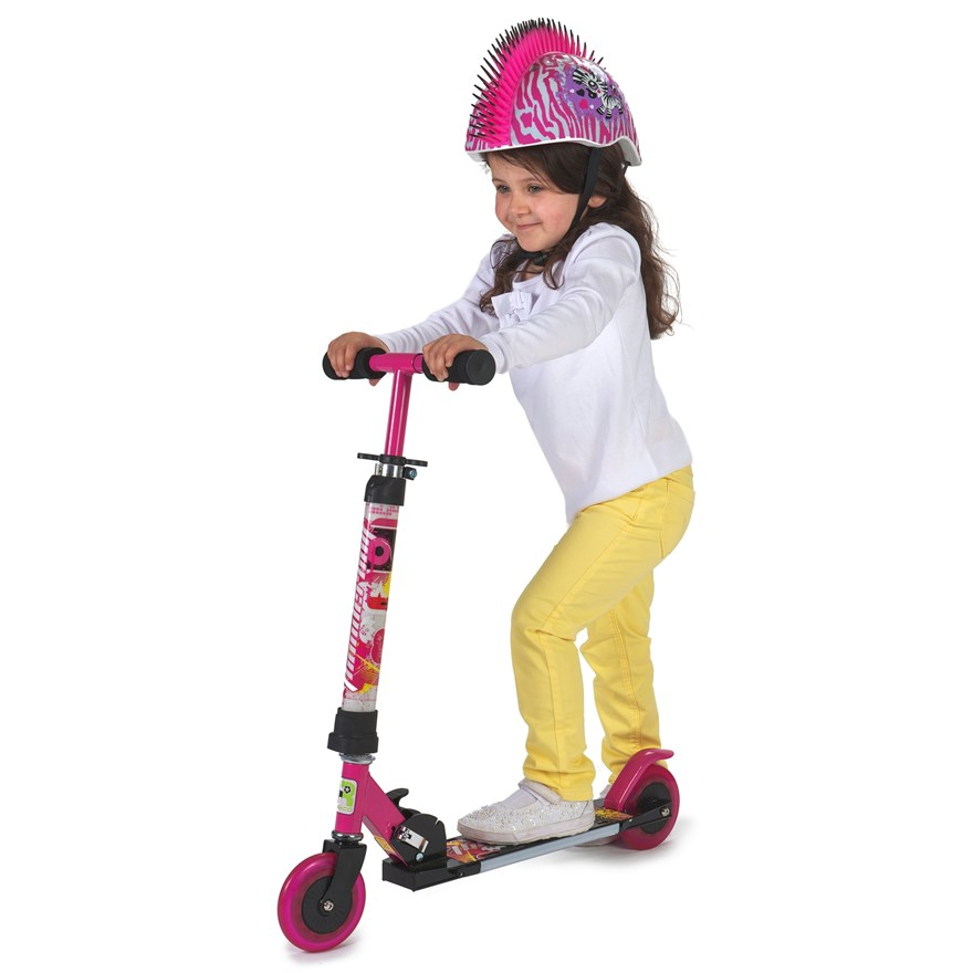 Light Up Pink Scooter image-2