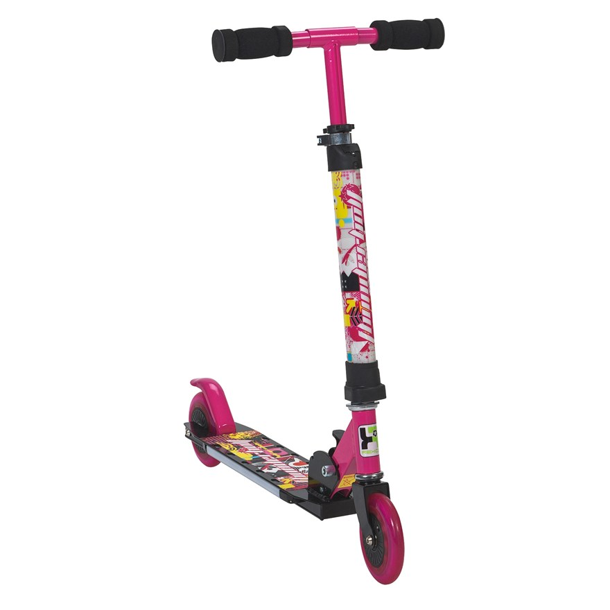Light Up Pink Scooter image-3