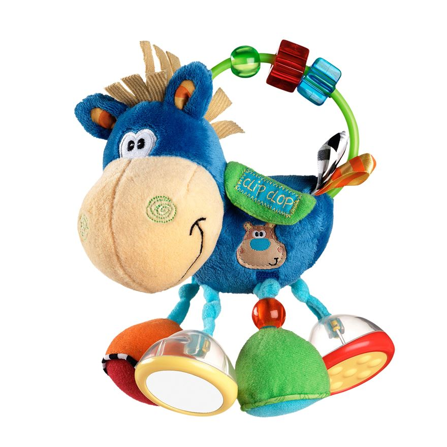 Playgro Activity Rattle Clip Clop image-0