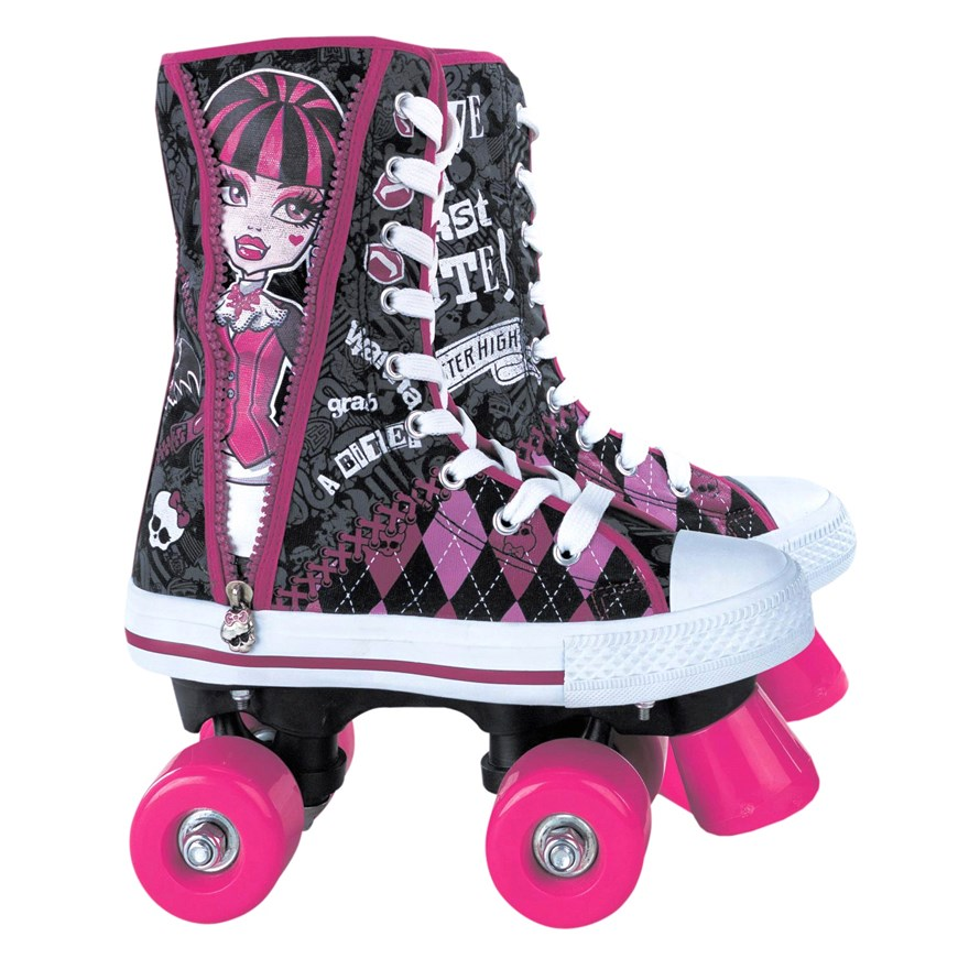 Monster High Bootskates Size 2 (UK)