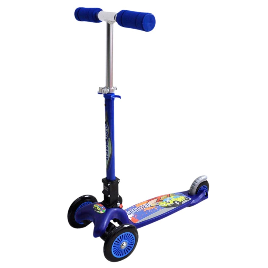 Lean & Steer Scooter Blue image-1