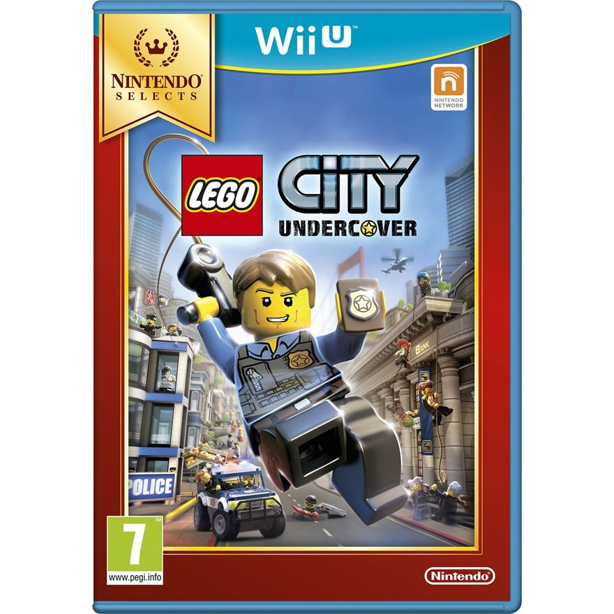LEGO City Undercover Select Wii U image-0