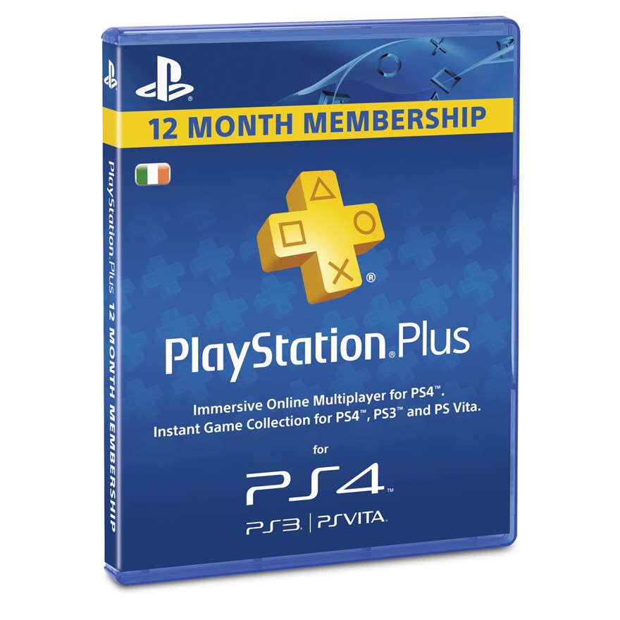 PlayStation Plus 1 Year Subscription