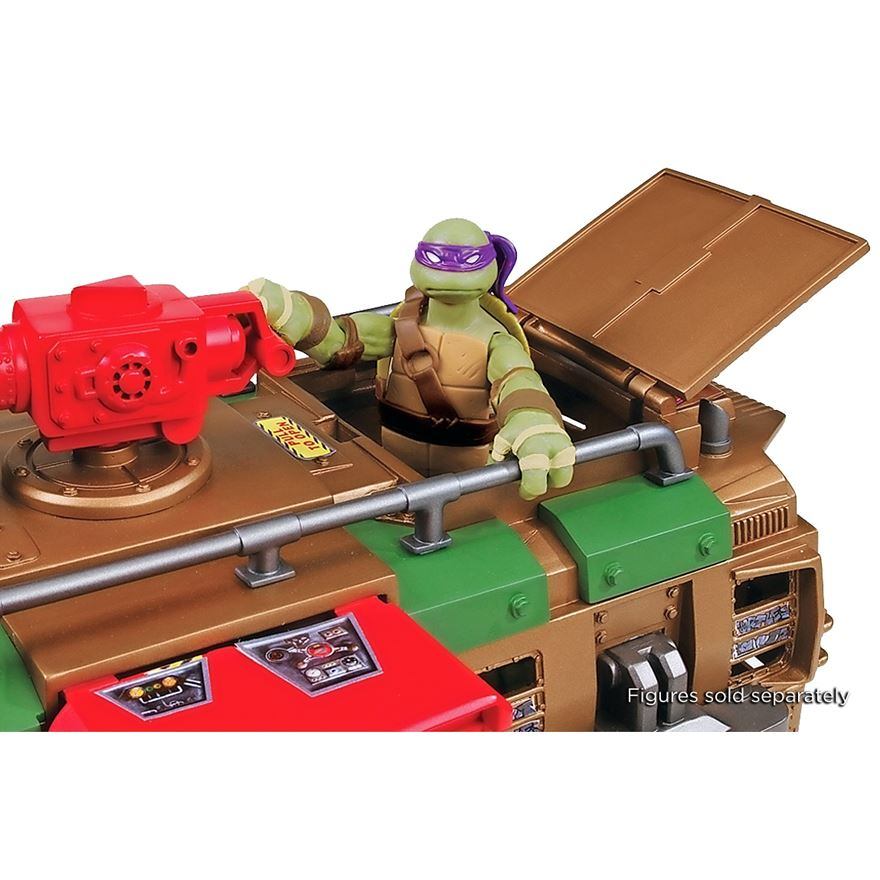 Turtles Shell Raiser Vehicle image-3