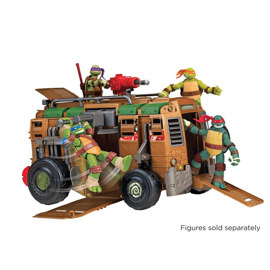 Turtles Shell Raiser Vehicle image-6