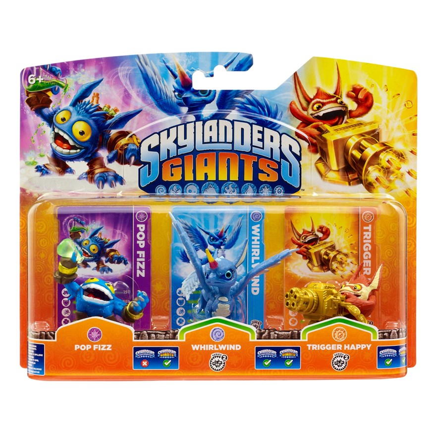 Grab Skylanders Giants triple packs for only £1