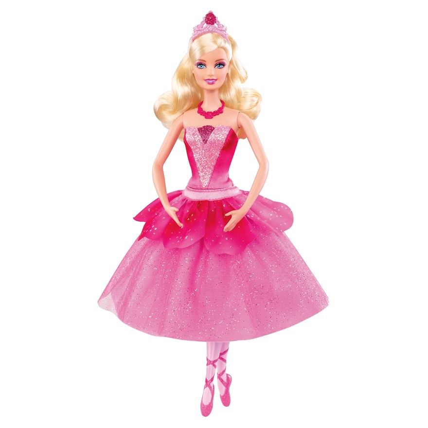 Barbie Pink Shoes Lead Doll image-1