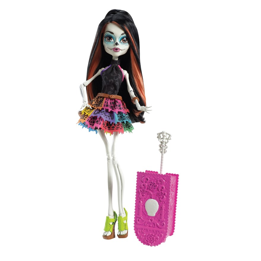 Monster High Scaris Deluxe Doll Skelita Calavar image-0