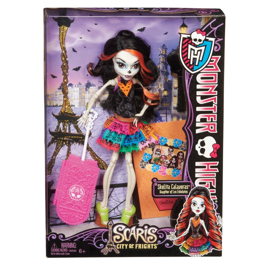 Monster High Scaris Deluxe Doll Skelita Calavar image-1