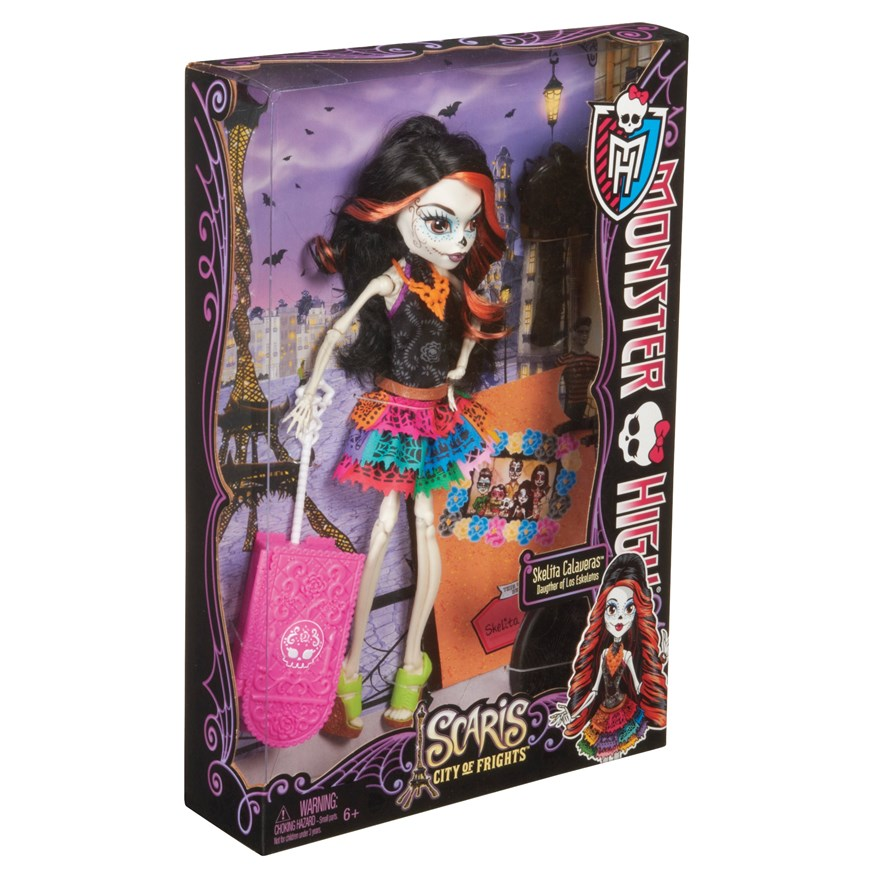 Monster High Scaris Deluxe Doll Skelita Calavar image-2