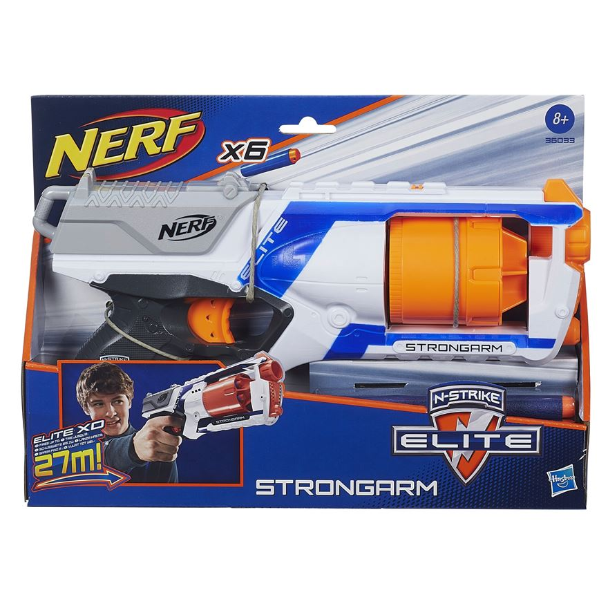 NERF N-Strike Elite Strongarm image-2