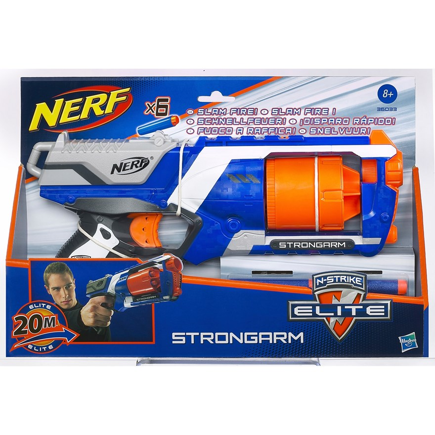 NERF N-Strike Elite Strongarm image-6