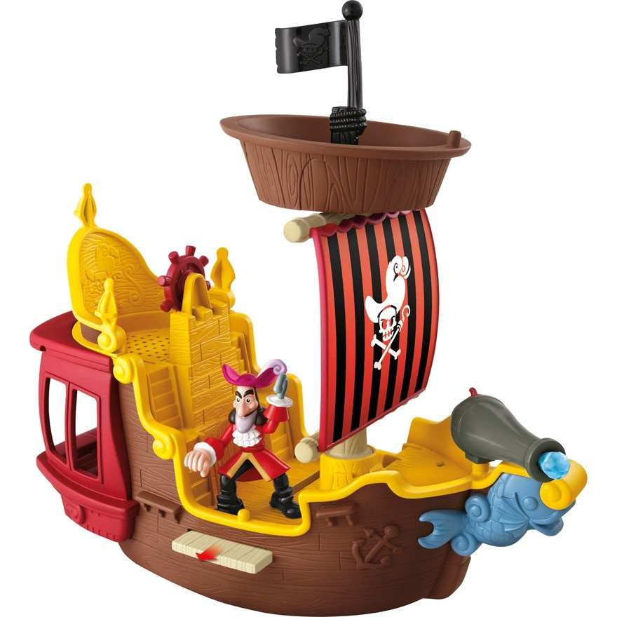 Hook's Jolly Roger Pirate Ship image-0