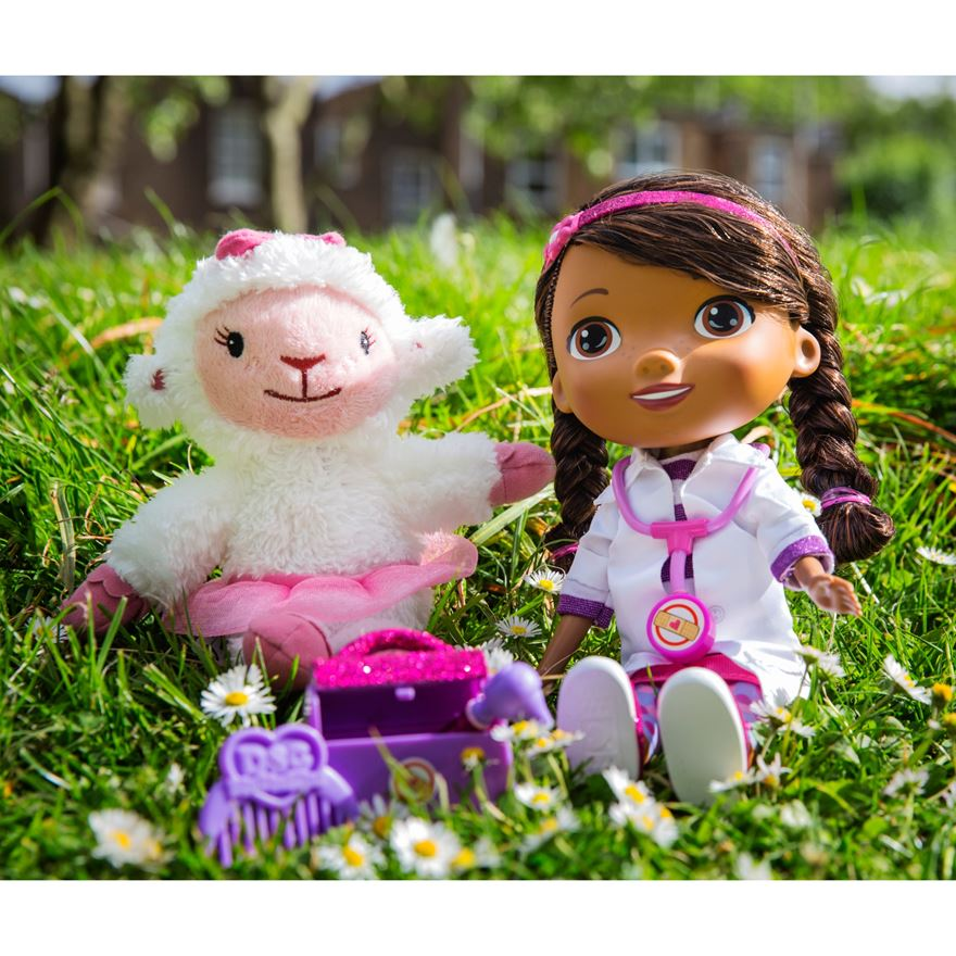 Doc McStuffins Time for Your Check-Up Interactive Doc and Lambie image-1