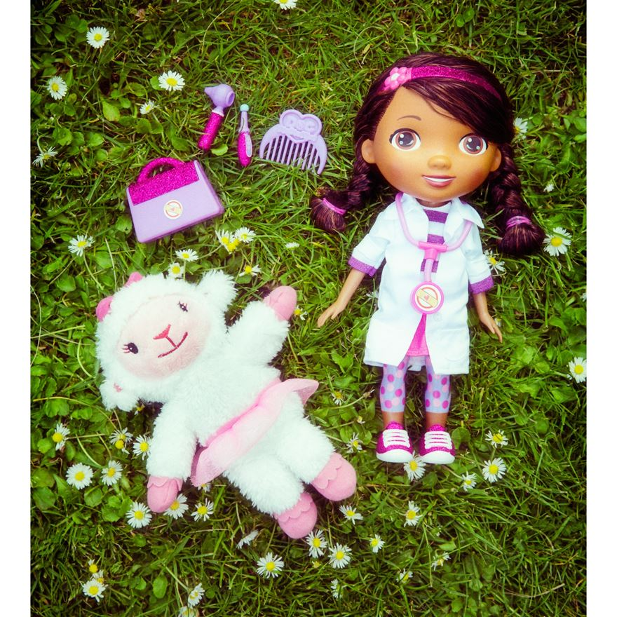 Doc McStuffins Time for Your Check-Up Interactive Doc and Lambie image-3