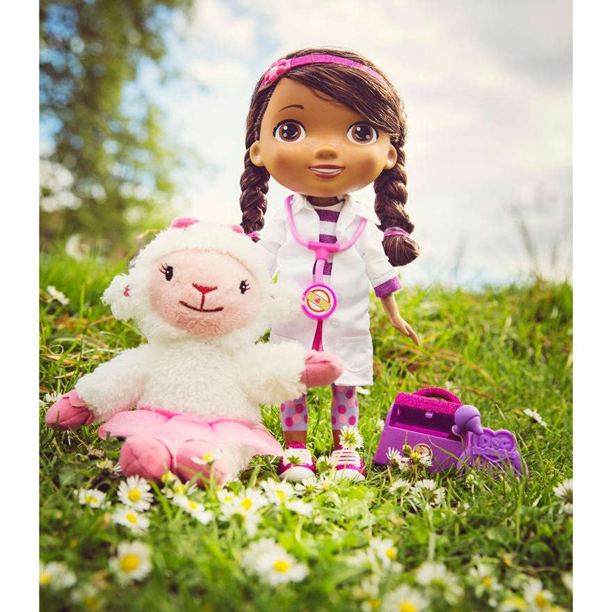 Doc McStuffins Time for Your Check Up Interactive Doc and Lambie image-4