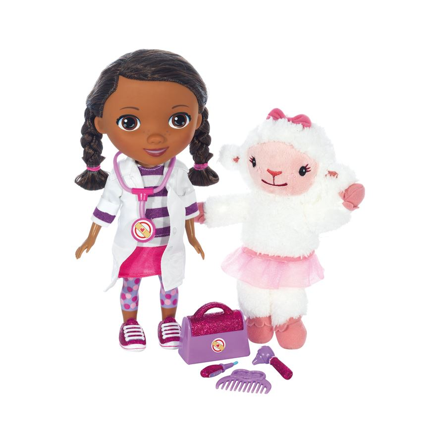 Doc McStuffins Time for Your Check-Up Interactive Doc and Lambie image-5
