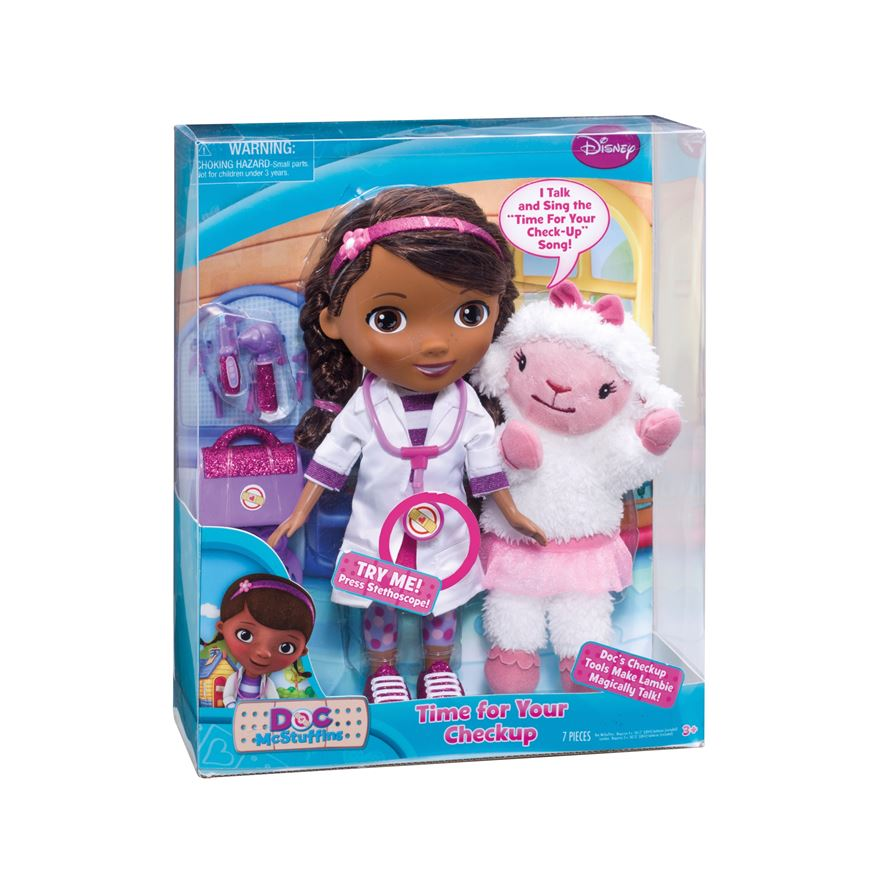 Doc McStuffins Time for Your Check-Up Interactive Doc and Lambie image-6