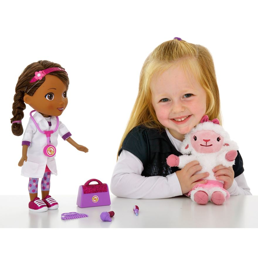 Doc McStuffins Time for Your Check-Up Interactive Doc and Lambie image-7