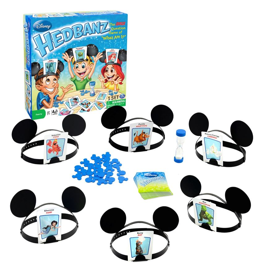 Disney Hedbanz Game image-0