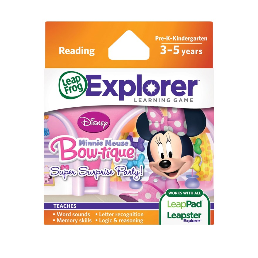 Disney Minnies Bow-Tique Explorer Game