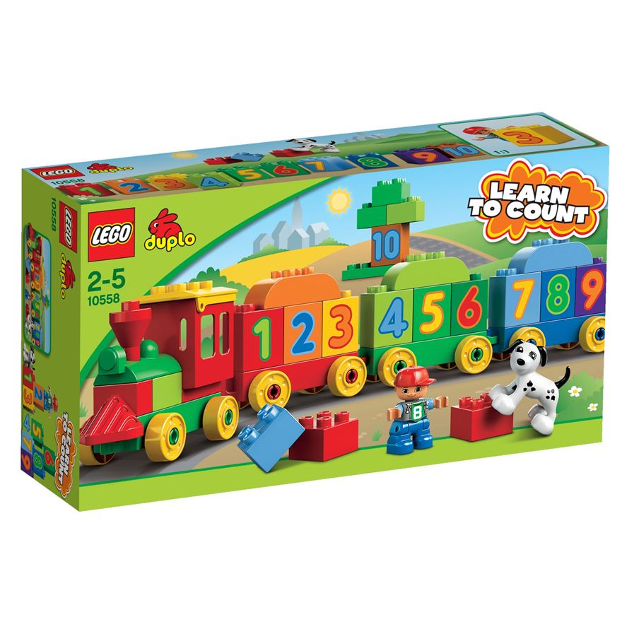 LEGO Duplo Number Train 10558 image-0