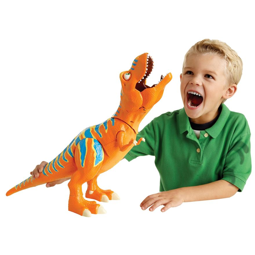 Roar 'N React Boris T-Rex image-0
