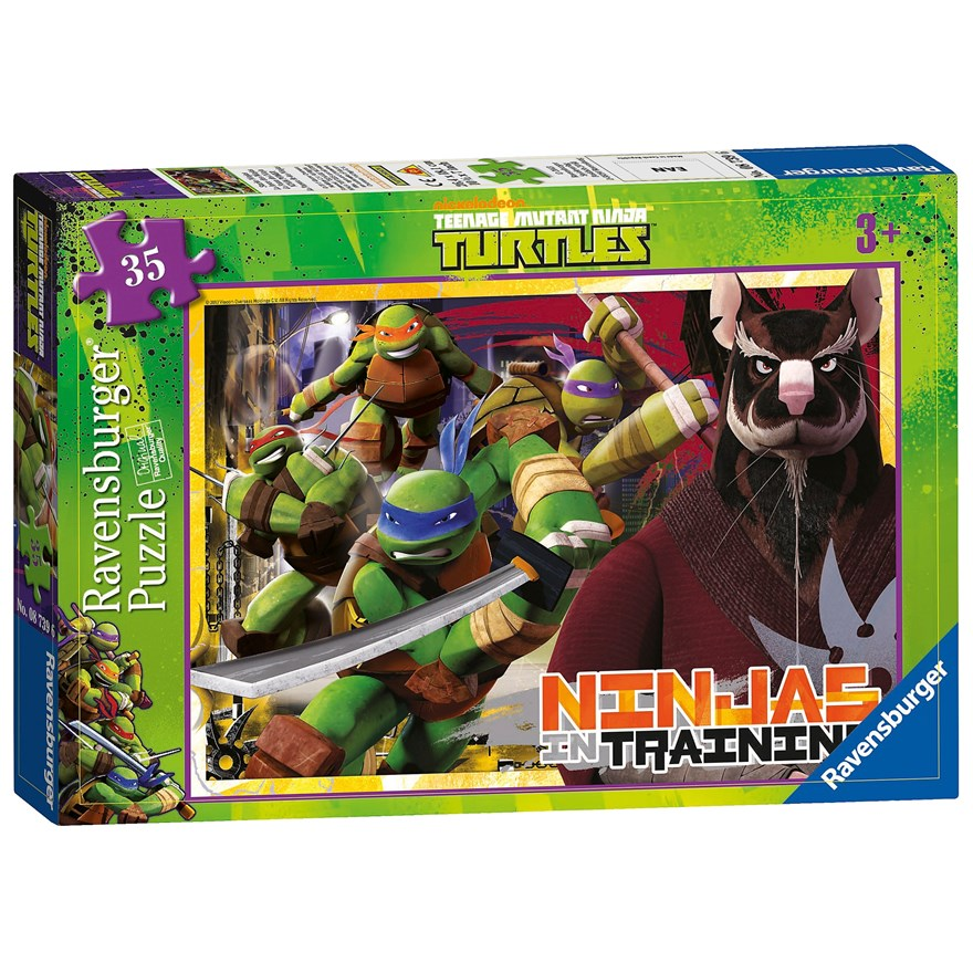 Teenage Mutant Ninja Turtles 35pc image-0